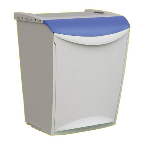 Waste separation container - blue lid