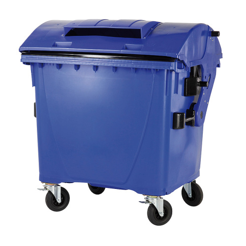 Plastic container 1100 l - paper collecting