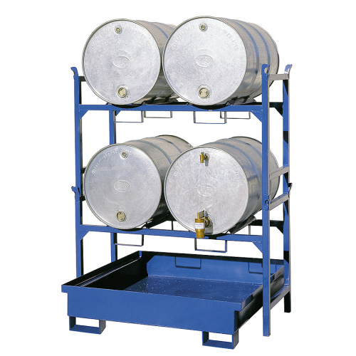 Stand for barrels - 1405x600x920 mm - galvanised