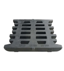 Plastic gate grating