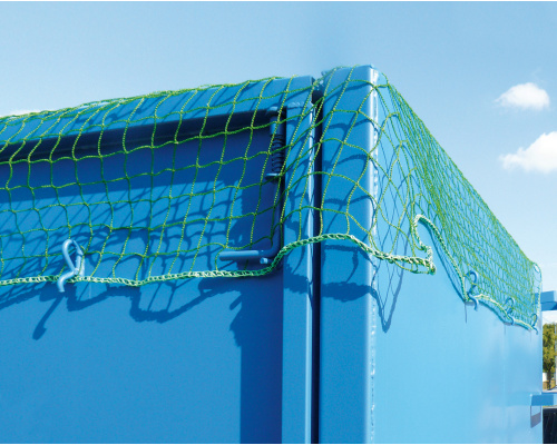 Net for container mesh 70x70 mm