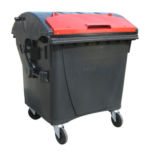 Lid for a plastic container 1100 lt. - red