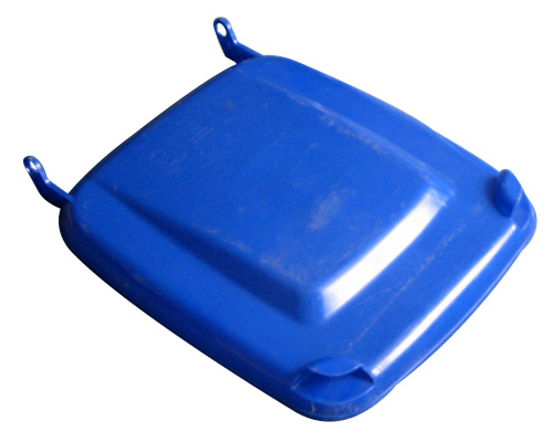 Lid for a plastic bin 240 lt. - plastic container - blue