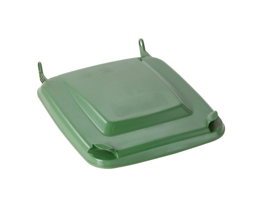 Lid for a plastic bin  240 lt. - plastic container - green