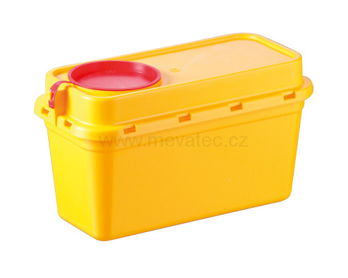 Medical waste container - 1.25 l