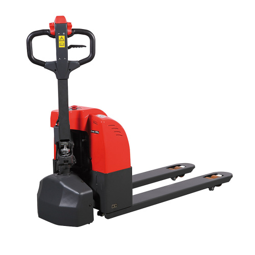 Accumulator battery pallet truck