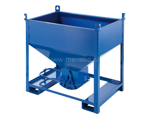 Container (silo) with bottom dump 600 l