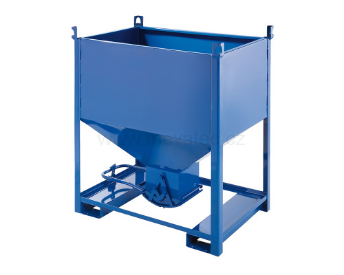 Container (silo) with bottom dump 1000 l