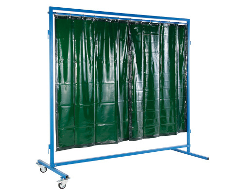 Mobile partition for welding workplaces 1500 mm