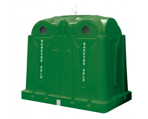 Polyethylene container 3.5 m3 - glass