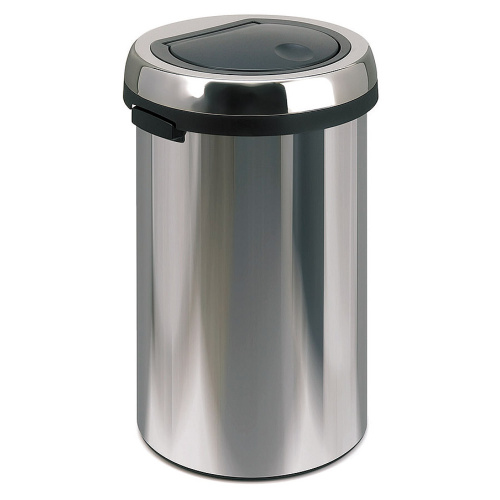 Waste bin 50 l. - chrome