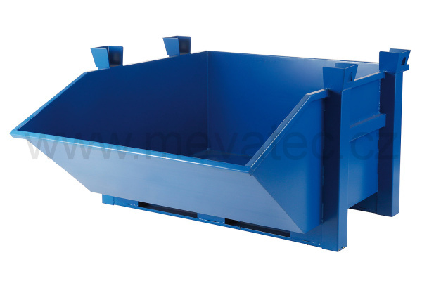 Heavy duty tipping container
