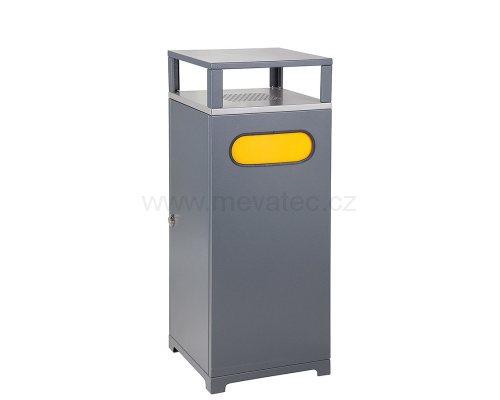Waste bin with ashtray