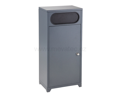 Waste bin for municipal waste