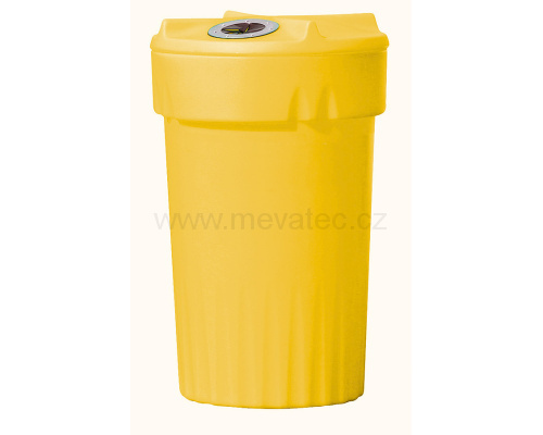 Plastic bin for waste separation - plastic