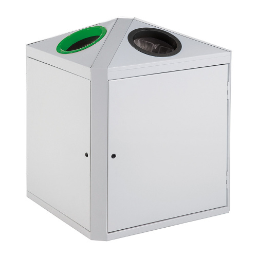Double bin green / black