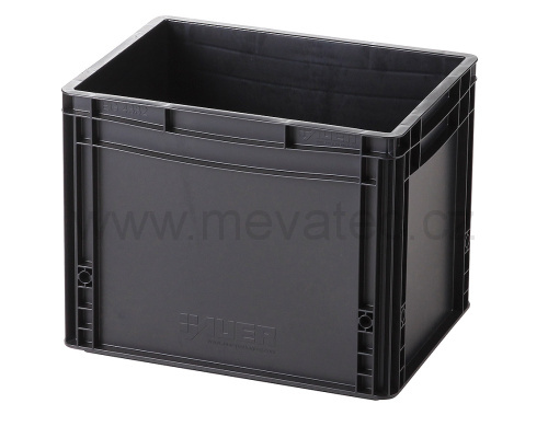 Plastic EURO crate 400x300x320 mm - ESD