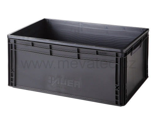 Plastic EURO crate 600x400x220 mm - ESD
