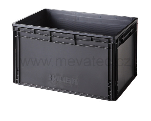 Plastic EURO crate 600x400x320 mm - ESD