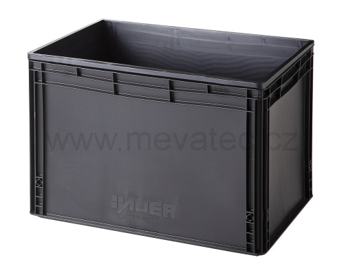 Plastic EURO crate 600x400x420 mm - ESD