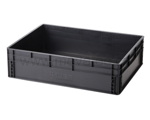 Plastic EURO crate 800x600x220 mm - ESD