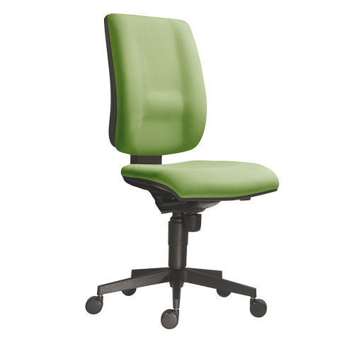 Work chair with a high green