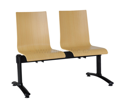 Two-seat bench - plywood