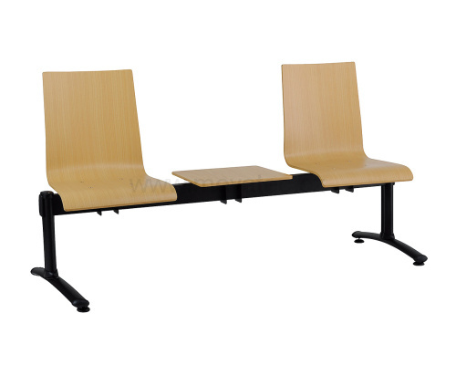 Three-seat bench - plywood
