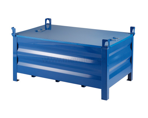 Cover for metal fence pallets