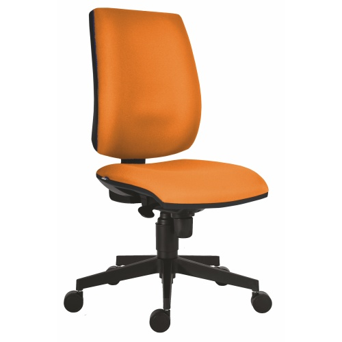 Office chair FLUTE orange