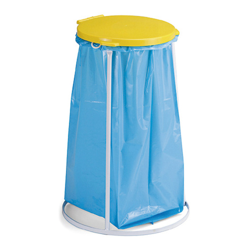 Bag stand 70 l - yellow lid
