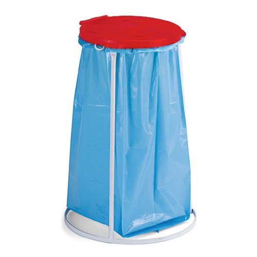 Bag stand 70 l - red lid