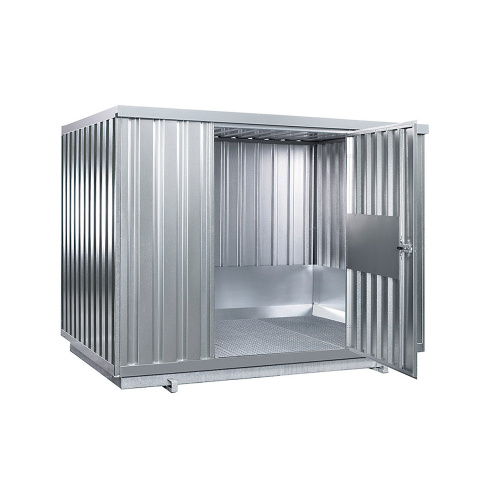 Depot for storage of flammables with insulation 2350x915x2340 mm