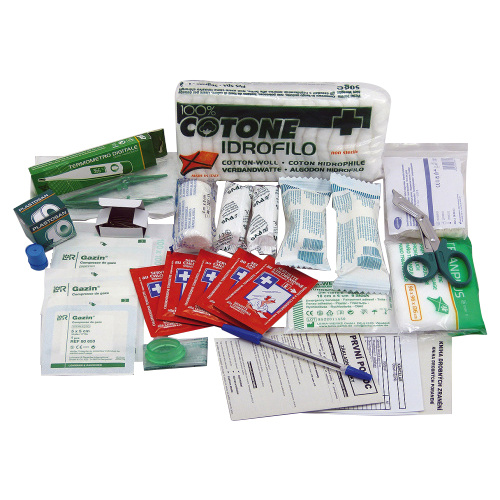 First-aid box contents - office
