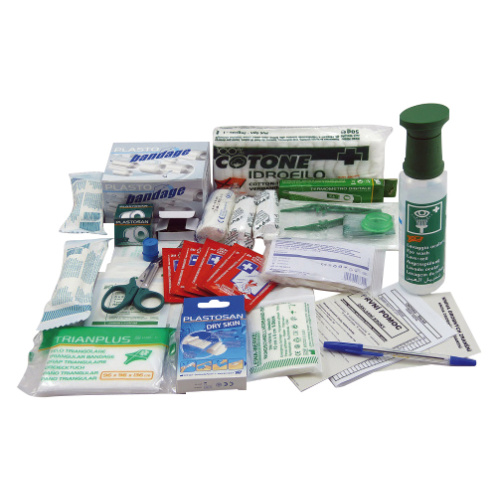 First-aid box contents - warehouse/shop