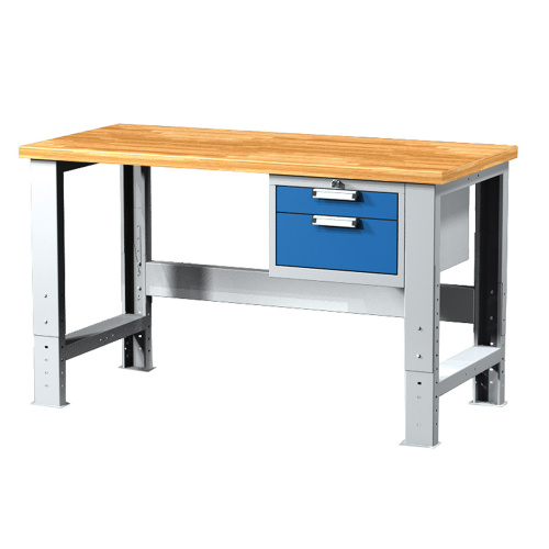 Work table with two drawers 1500 mm