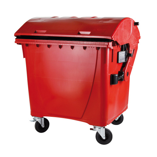 Plastic container 1100 l - red