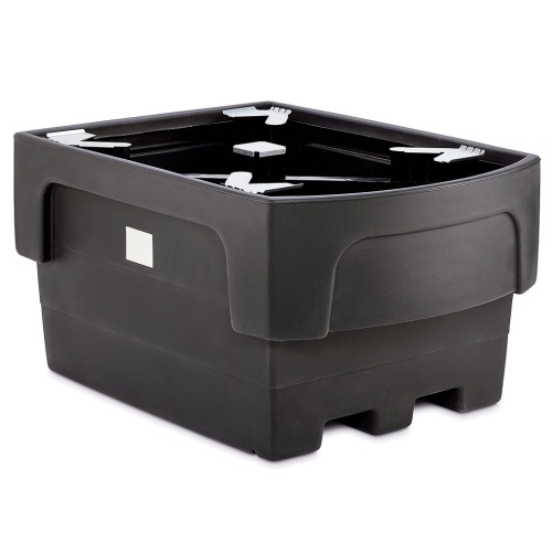 Plastic tub for a IBC container