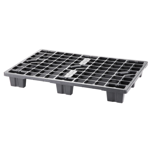 One-way plastic pallet