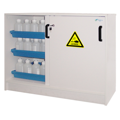 Safety cabinet for chemicals 1135x615x900mm