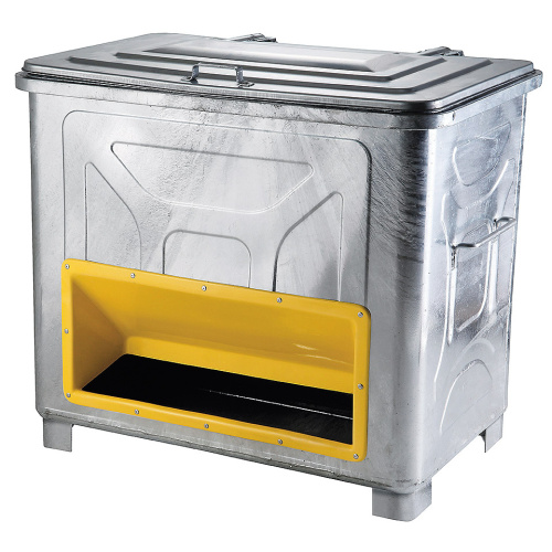 Gritting container on legs 800 l.