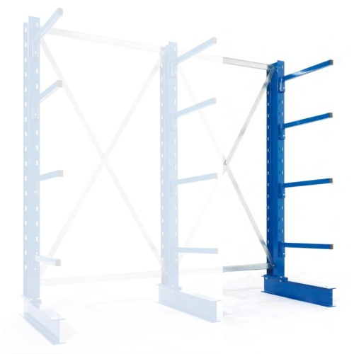 One-sided cantilever rack - Light 2500/400 mm - EP