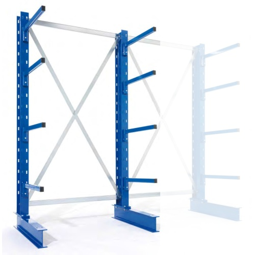 One-sided cantilever rack - Light 2500/500 mm - BP