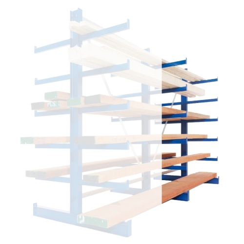 Double-sided cantilever rack - Light 2500/500 mm - EP