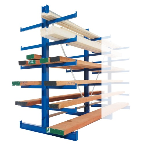 Double-sided cantilever rack - Light 3000/600 mm - BP