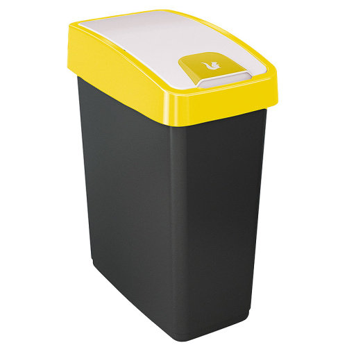 Waste bin 25 l. - yellow