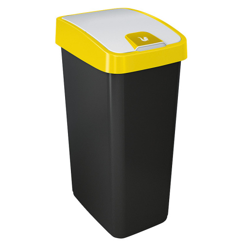 Waste bin 45 l. - yellow