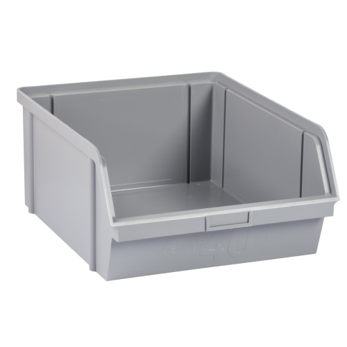 Plastic container 400x300x162 - grey