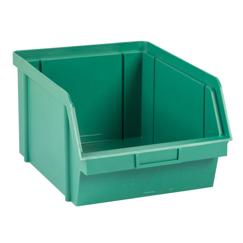 Plastic container 300x200x142 - green