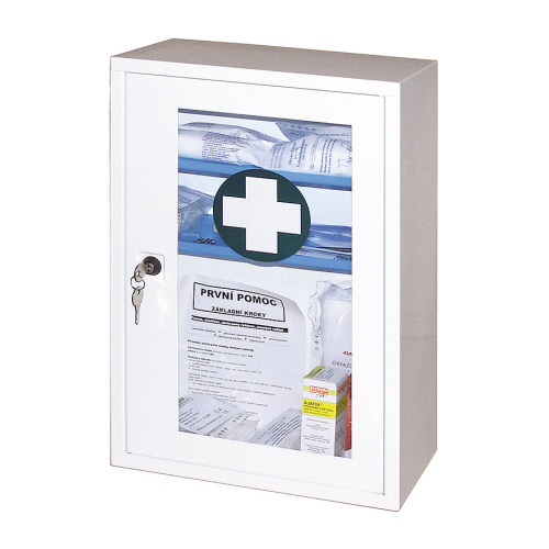 Metal first-aid box